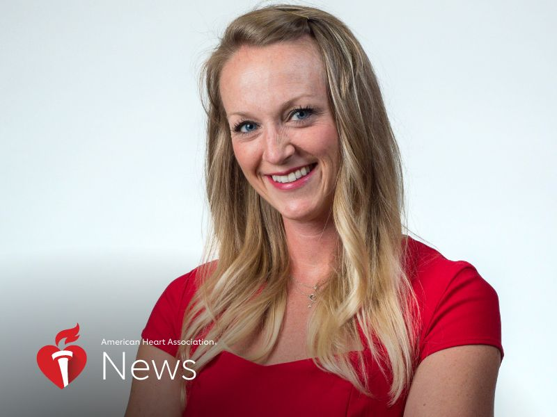 News Picture: AHA News: Nurse Training for Triathlon Had Her Heart Stopped Mid-Swim