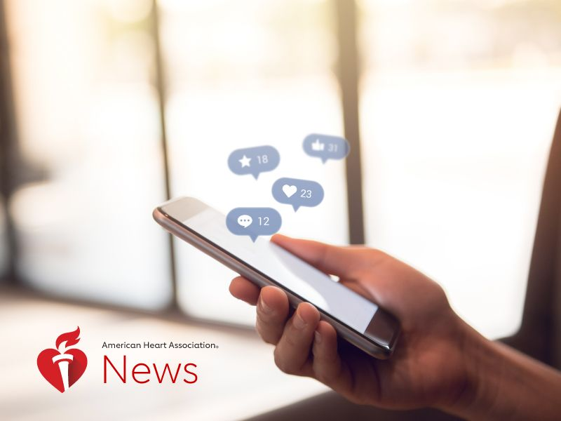 AHA News: Can Social Media Be Good for Your Health?