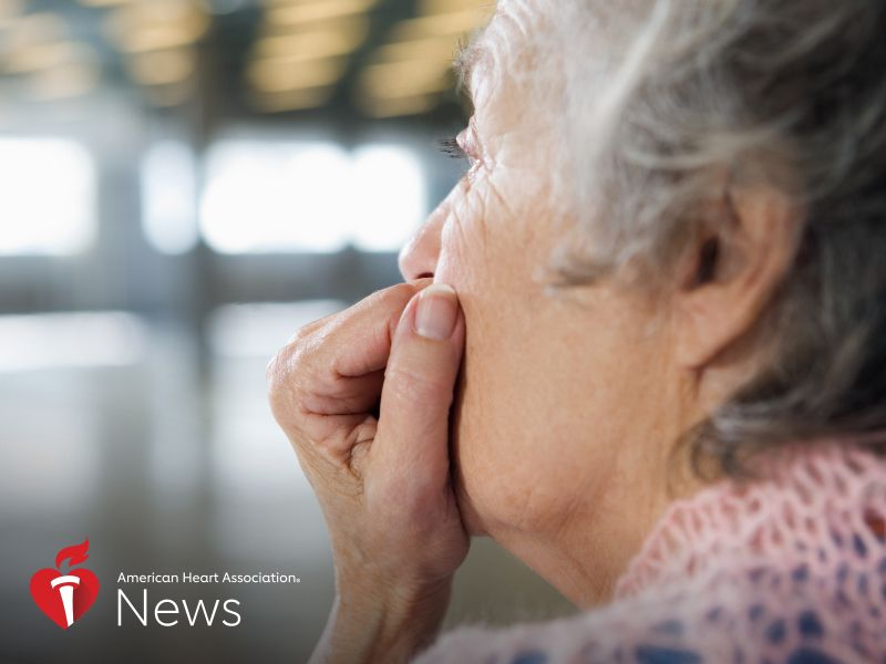 News Picture: AHA News: Many Women Plagued by Anxiety After Stroke
