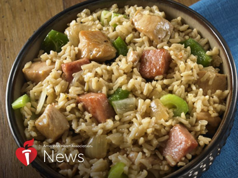 AHA News: This Meaty Jambalaya Takes the Fat Out of Fat Tuesday