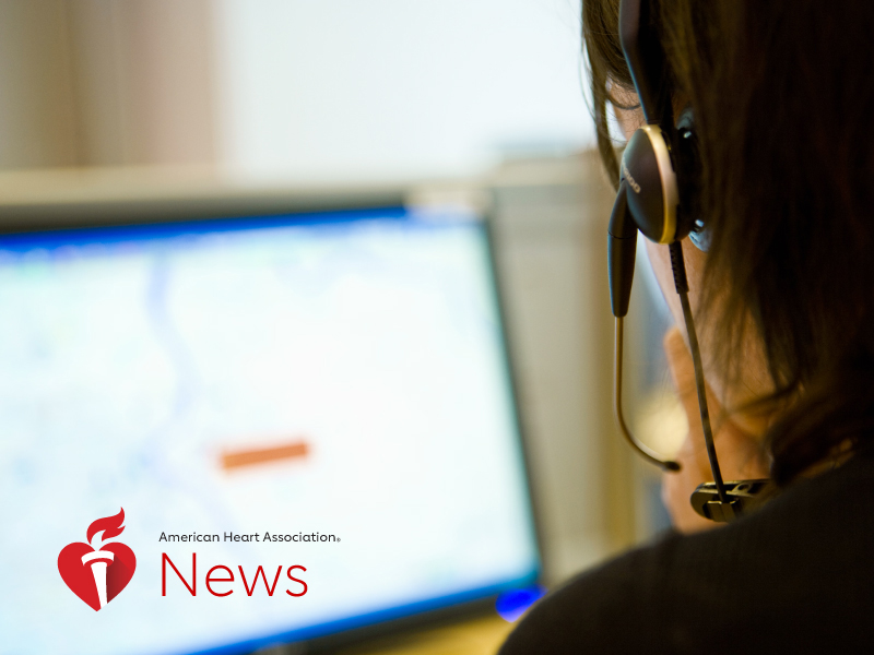 News Picture: AHA News: Can a Phone Call Help Restart the Heart?