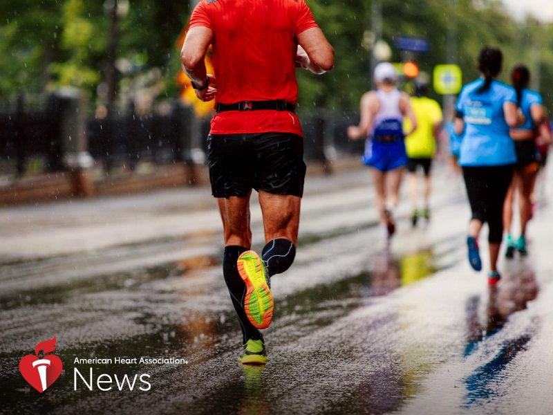 News Picture: AHA News: Is Long-Distance Running Good for the Heart?
