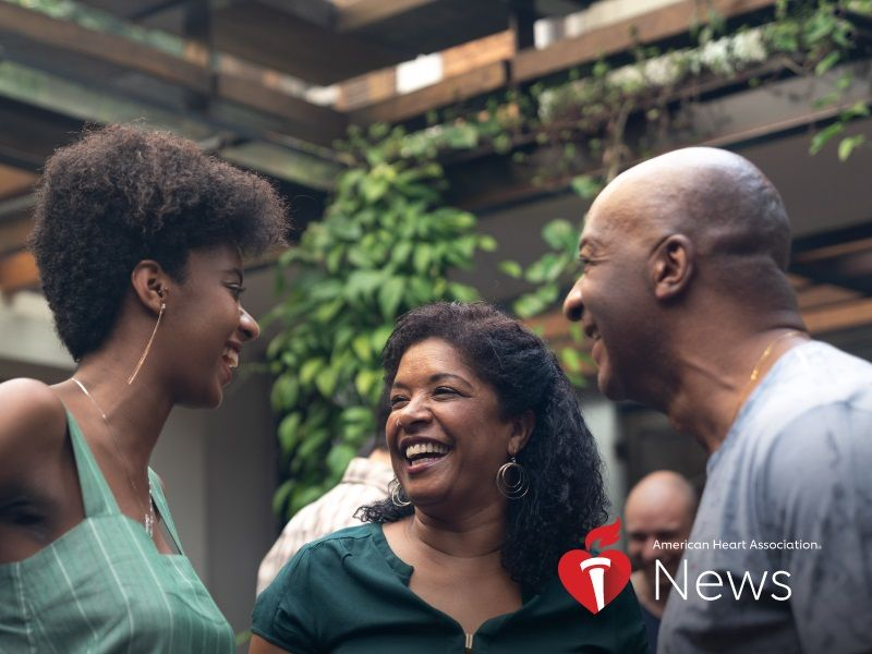 AHA News: Can Social Connection Aid Heart Health in African-American Community?