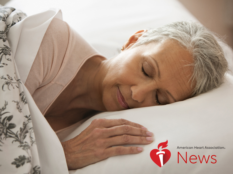 News Picture: AHA News: Sleep Should Be Another Measure of Heart Health, Study Says