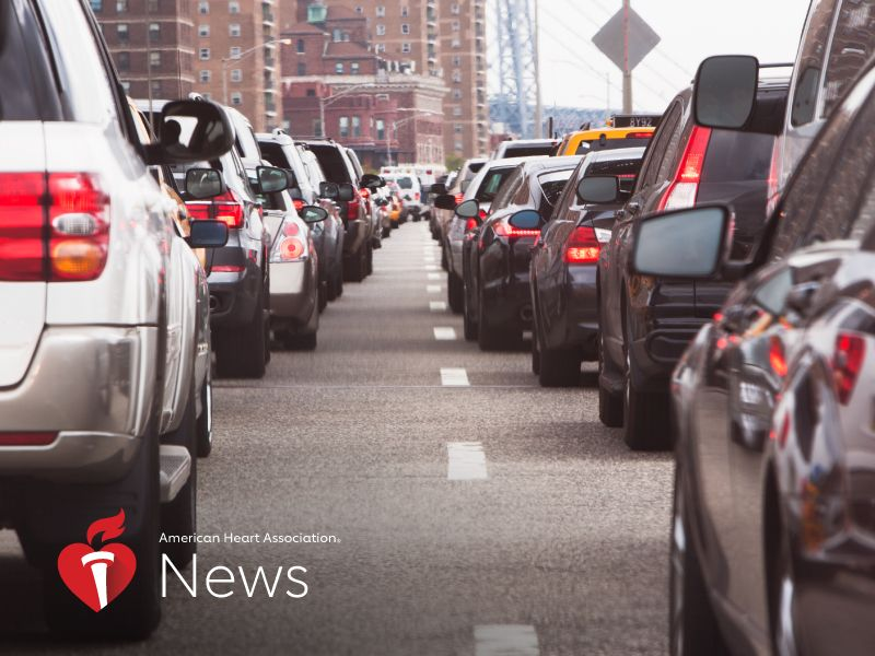 News Picture: AHA News: Traffic Noise Might Increase Diabetes, Blood Pressure Risks