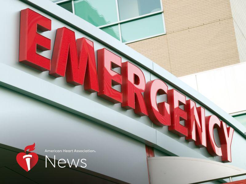 AHA News: Health Emergency? Don't Hesitate to Get Help