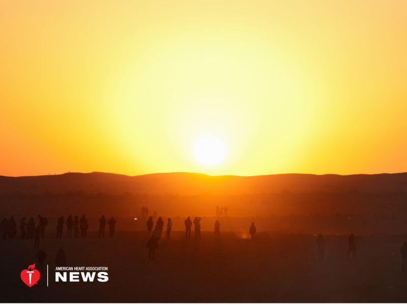 AHA: Summer Sun Might Bring Fewer Heart Attacks, Study Finds
