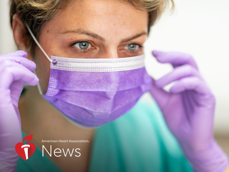 AHA News: Pandemic Puts Health Care Workers' Mental Health on the Line