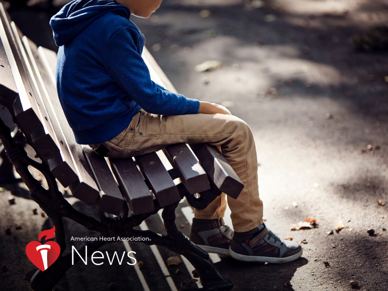 News Picture: AHA News: Traumatic Childhood Increases Lifelong Risk for Heart Disease, Early Death