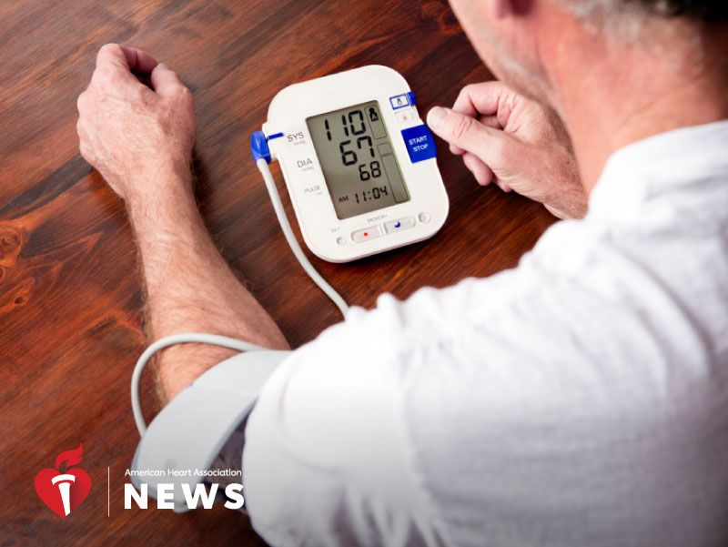 News Picture: AHA News: Study Backs Lower Blood Pressure Target for People With Diabetes