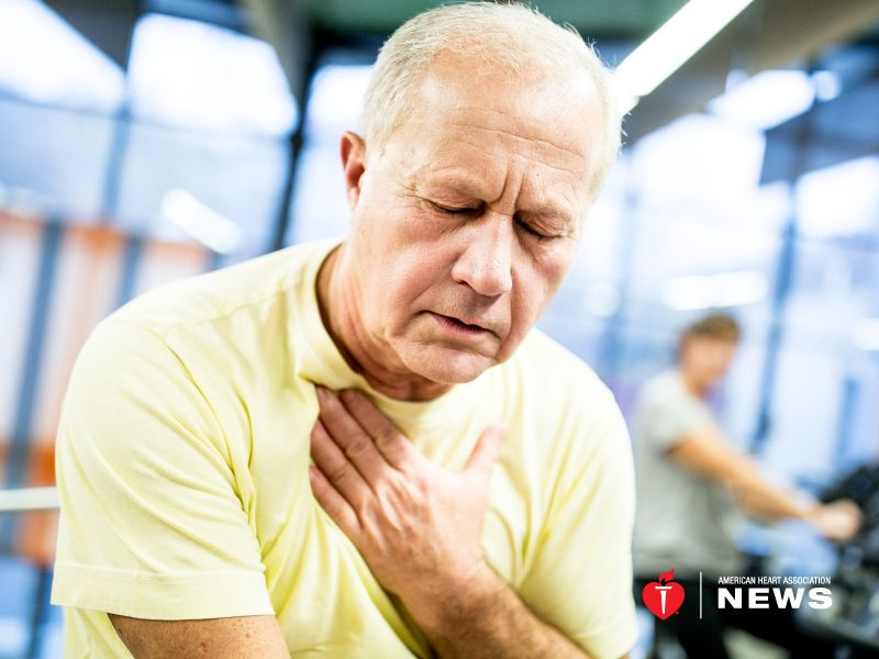 AHA: Heart-Stopping Condition Could Come With Warning Signs
