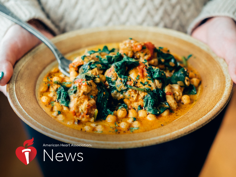 News Picture: AHA News: Cooking More at Home? Diverse Food Cultures Can Expand Heart-Healthy Menu