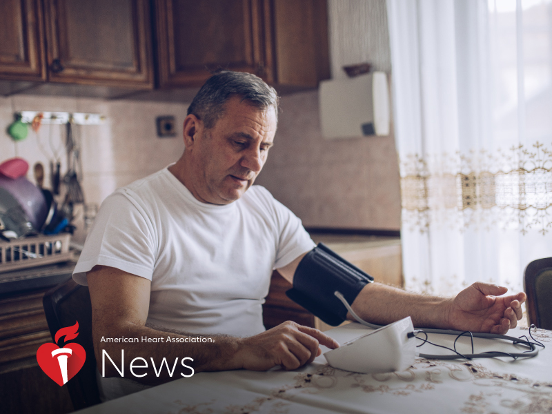 AHA News: How to Accurately Measure Blood Pressure at Home