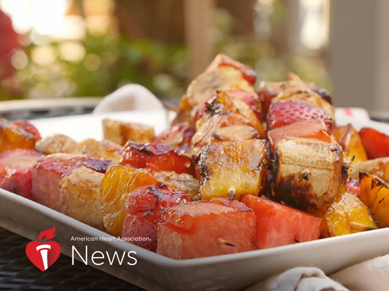 AHA News: A Nutritious Side Dish to Grill This Memorial Day
