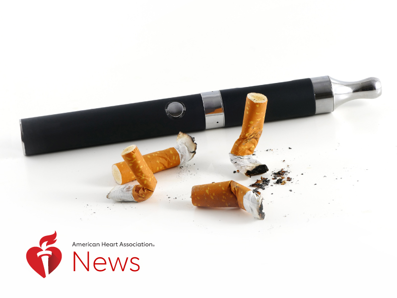 News Picture: AHA News: Vaping Ignites Legislative Trend to Raise Tobacco Sales Age to 21