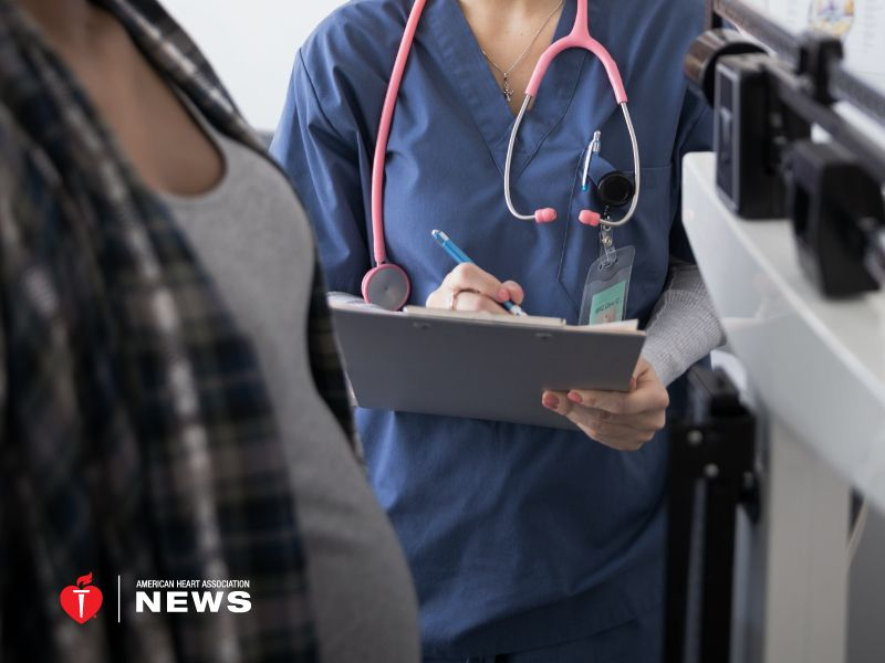 AHA: Big Weight Gain in 1st Pregnancy Could Boost Preeclampsia Risk