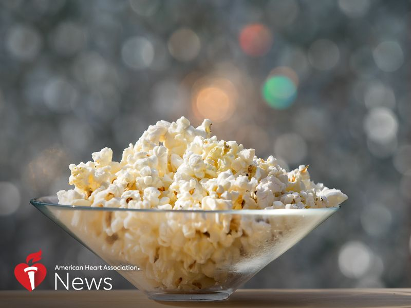 AHA News: Popcorn as a Snack  Healthy Hit or Dietary Horror Show?