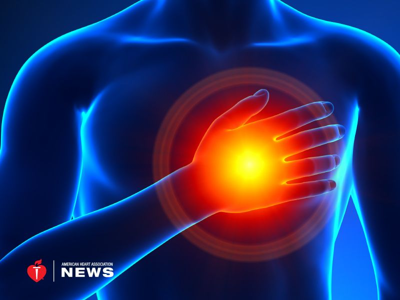 aha an un mon form of heart attack needs a second look Panic Attack thursday june 28 2018 american heart association one in 10 heart attacks in younger patients aren t caused by blocked coronary arteries