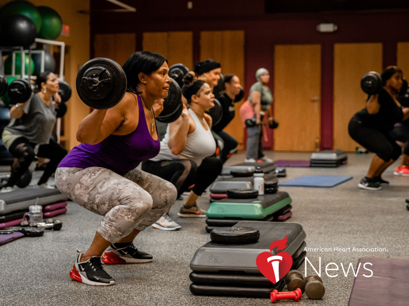 AHA News: At Nonprofit Fitness Center, Women Find Strength in Numbers