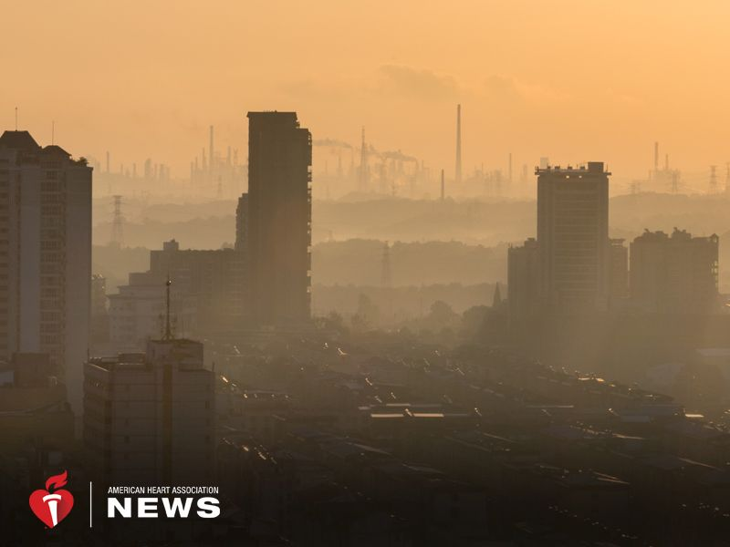 AHA: Air Pollution Exposure Linked to Enlarged Hearts