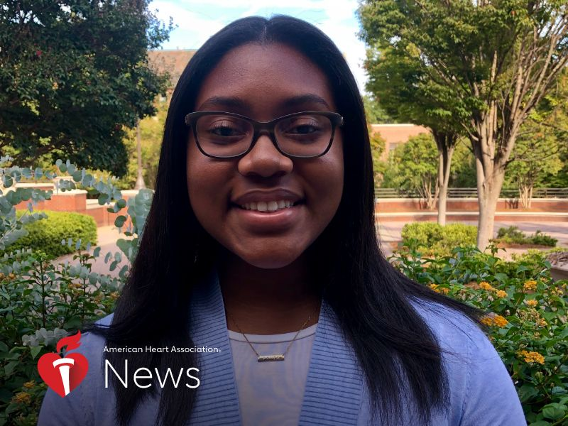 AHA News: This 'Actions-Speak-Louder-Than-Words' Student Puts Public Policy Studies to Work
