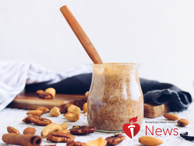 AHA News: Nut Butters Are a Healthy Way to Spread Nutrients