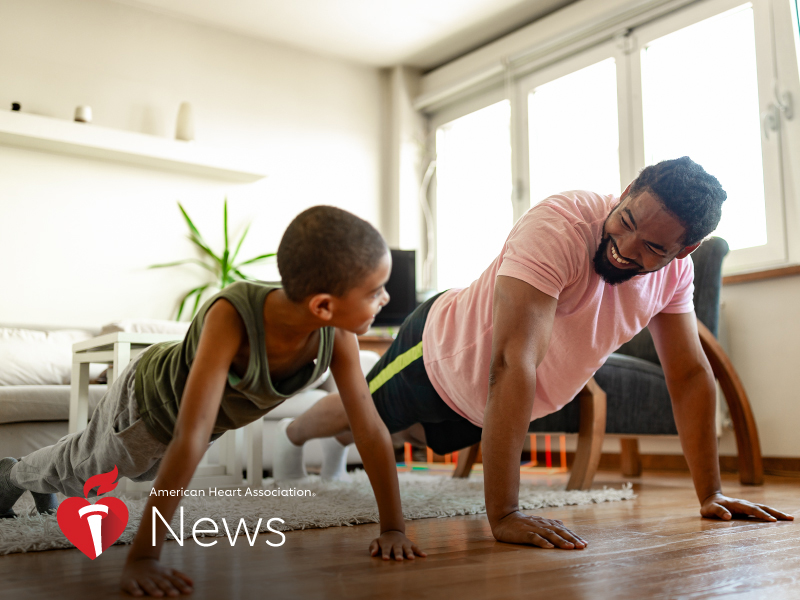 AHA News: How to Keep Kids Active While Learning From Home – and Why That`s Vital