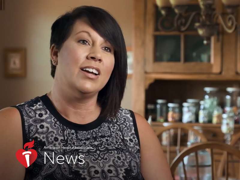 News Picture: AHA News: Her Arm Pain Wasn't From Skiing – It Was a Heart Attack