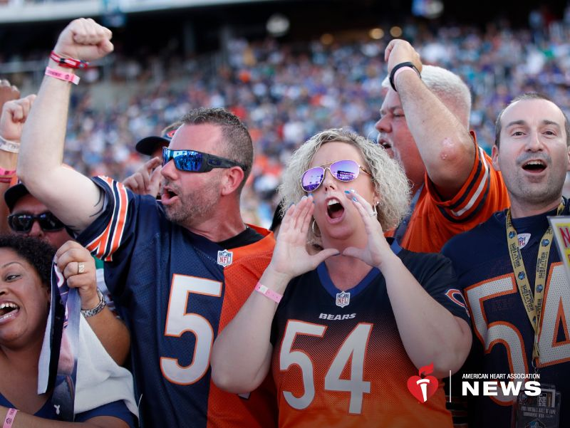 AHA: Are Die-Hard Sports Fans Putting Their Hearts at Risk?