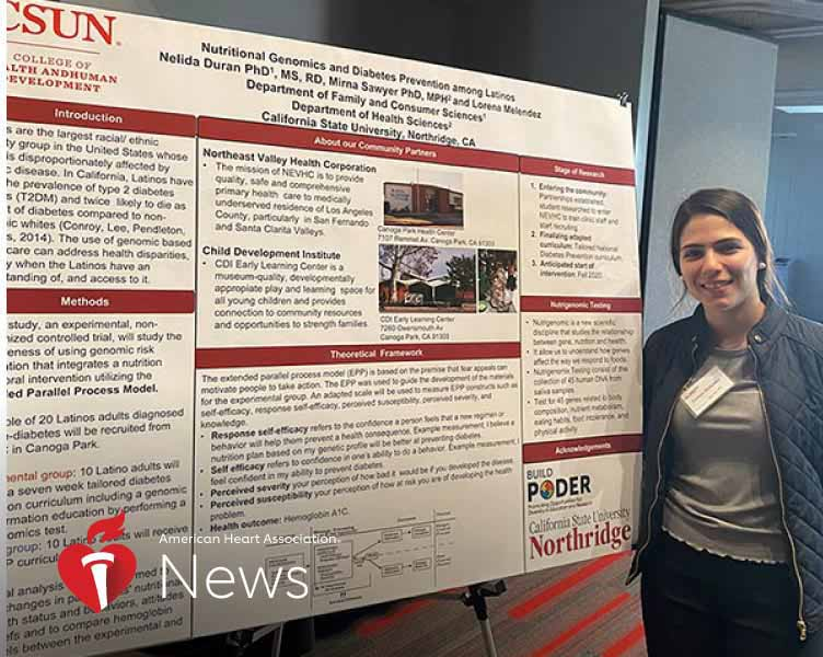 News Picture: AHA News: Young Immigrant Works to Eradicate Health Gaps in Her Latino Community