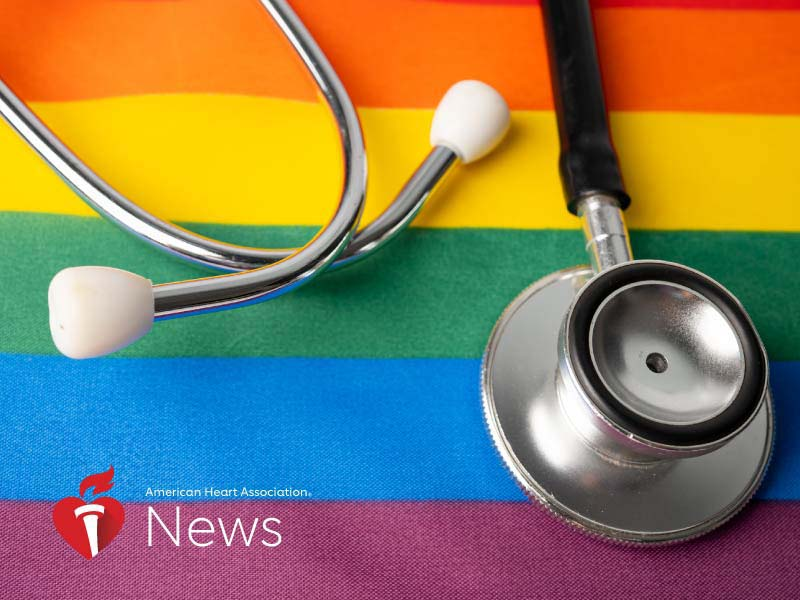 News Picture: AHA News: Heart Health Report Aims to Bolster Research, Boost Care for LGBTQ Patients