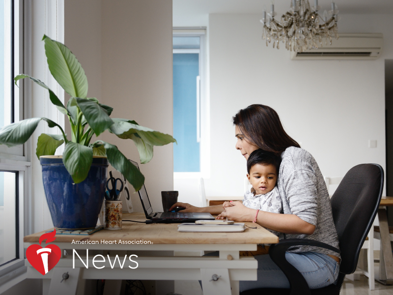 Torn Between Work and Family? It May Not Be Good for Heart Health: AHA News
