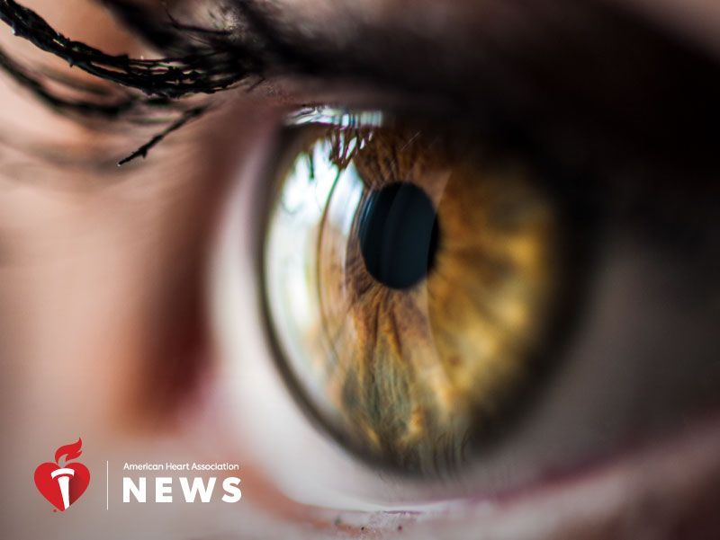 AHA: A Child's Eyes May Be a Window Into Later Heart Disease Risk