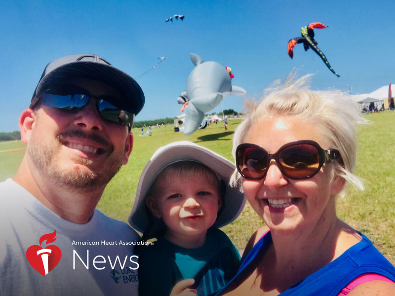 AHA News: New Mom Faces Life-Threatening Heart Attack Days After Giving Birth