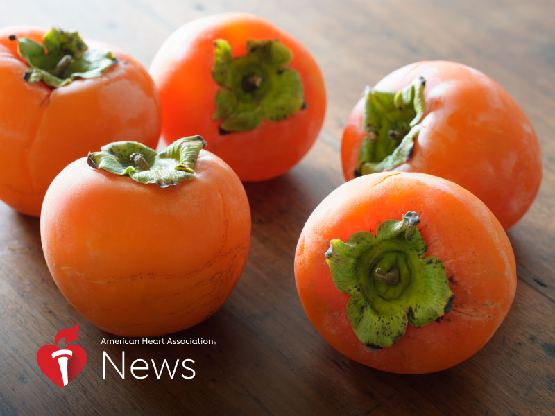 News Picture: AHA News: Persimmons Pack Plenty of Nutritional Punch