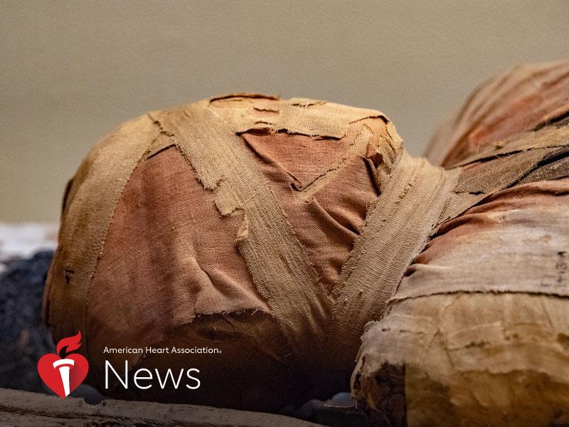 AHA News: The Mummies' Message: Take Steps Against Heart Disease