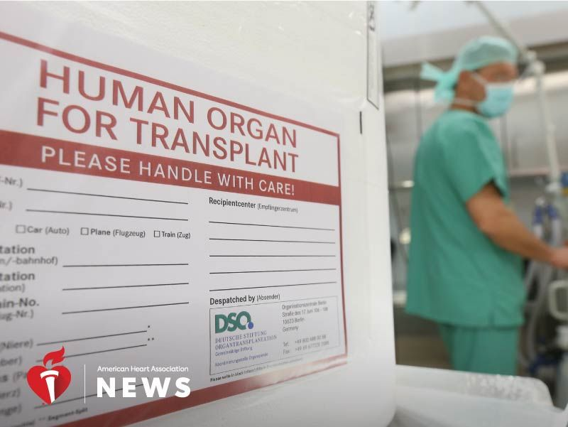 AHA: Could Your Race Determine Your Wait for a Donor Heart?