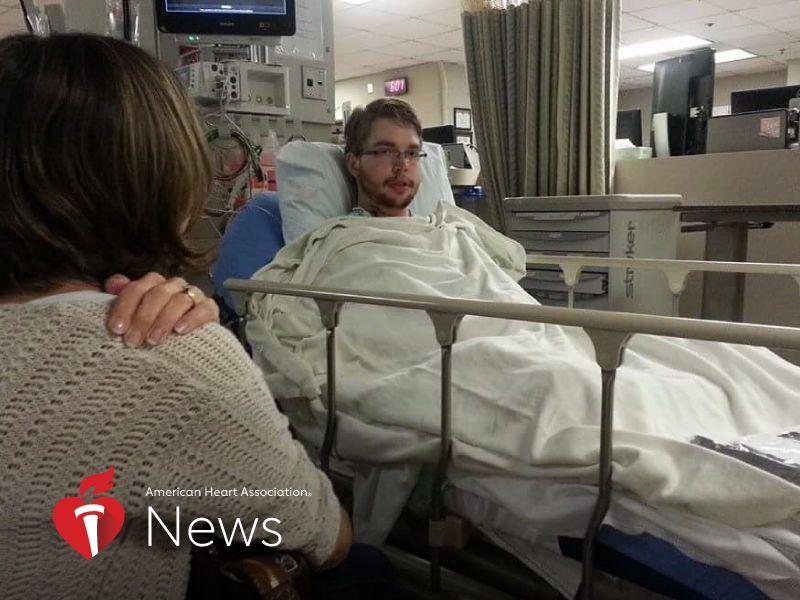 AHA News: He Got a New Heart, Then Cancer, Then Another Heart