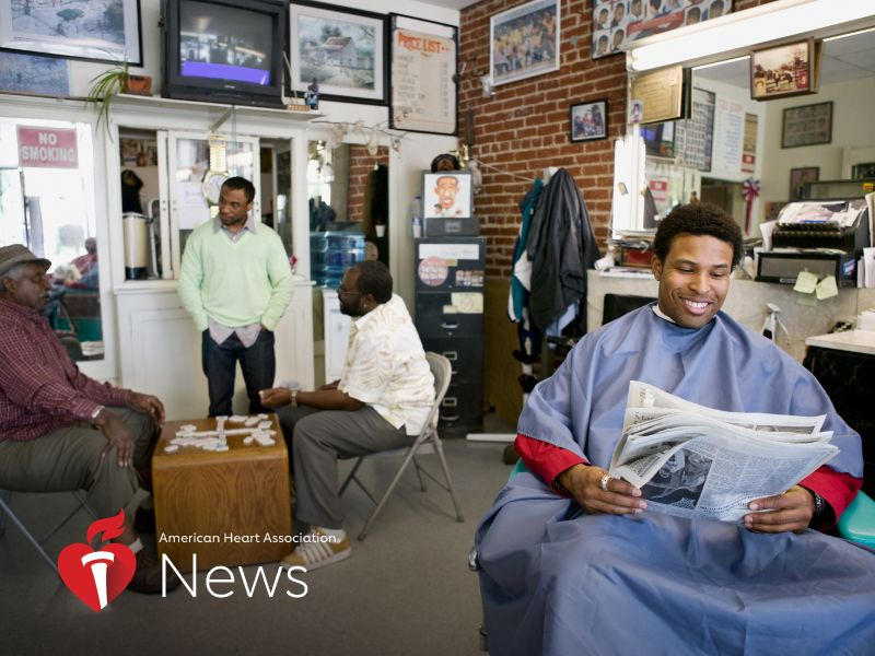 AHA News: Here's How Black Barbershops Could Save Lives and Millions in Health Costs
