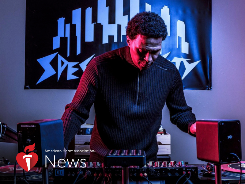 AHA News: Public Enemy's Keith Shocklee Turns Heart Attack Into Call to Action