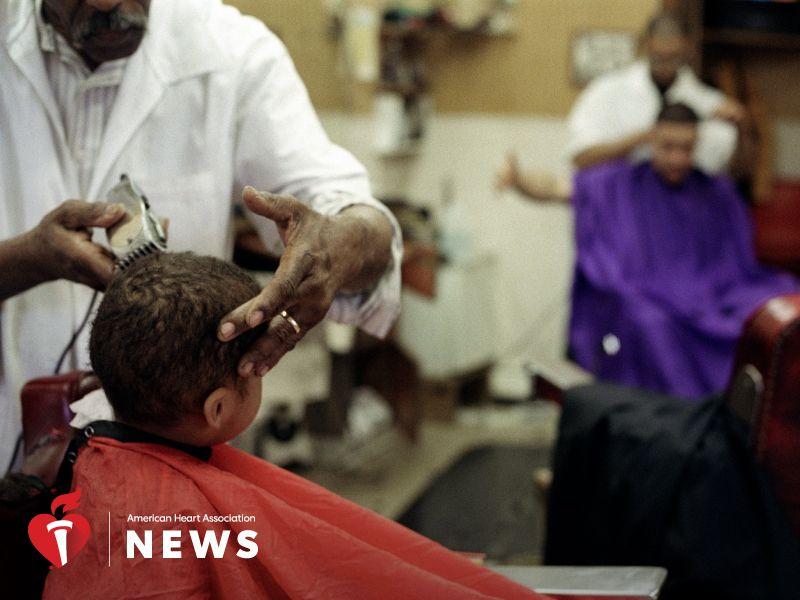 AHA: Barbershops Help Trim High Blood Pressure Numbers for Black Men