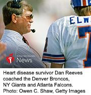 News Picture: AHA News: NFL Coaches' Drive for Success Can Be Hard on Their Hearts