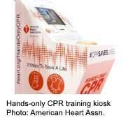 Want to Learn CPR? Try an Automated Kiosk
