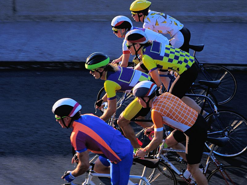 Male Triathletes May Be Harming Their Hearts