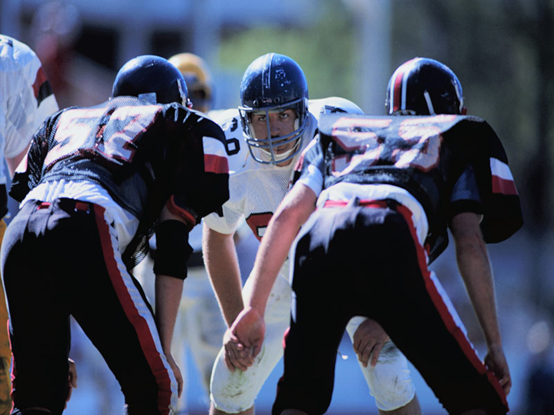 Study of football players' brains might help diagnose CTE ...
