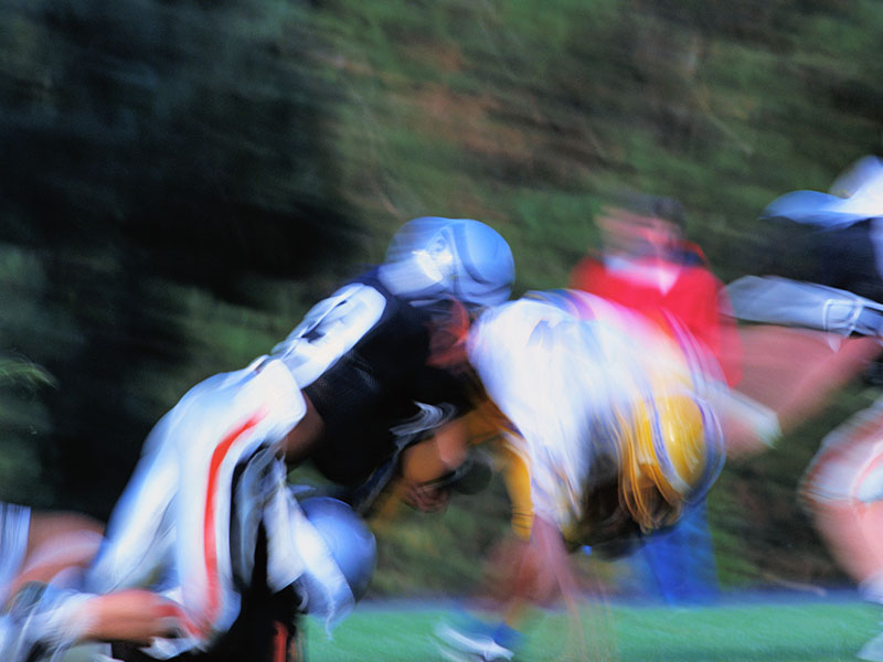 High School Football Players Have Most Post-Concussion Symptoms