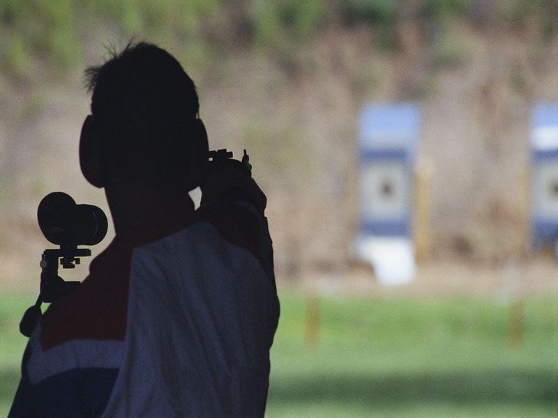 News Picture: Shooting Ranges Pose Hidden Risks: Study