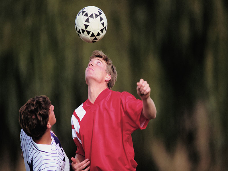 For Soccer Players, Heading May Pose Bigger Risk Than Collisions