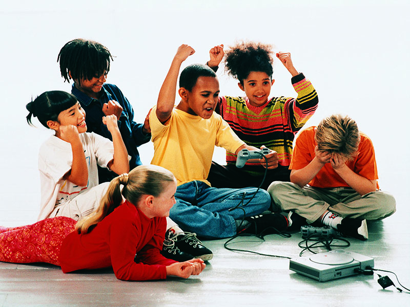News Picture: How Much Video Gaming Is Too Much for Kids?