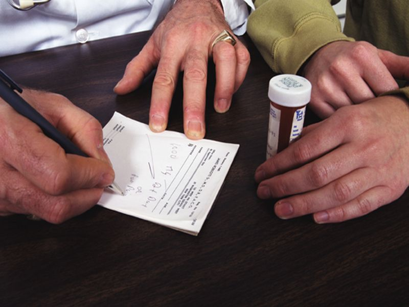 News Picture: Opioid Dependence Can Start in Just a Few Days